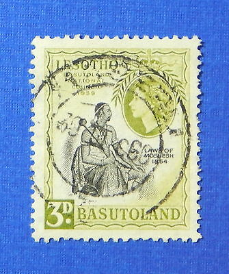 1959 BASUTOLAND 3d SCOTT# 58 S.G.# 55 USED                               CS20185