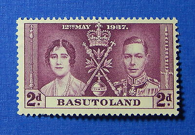 1937 BASUTOLAND 2d SCOTT# 16 S.G.# 16 UNUSED                             CS20015