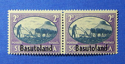 1945 BASUTOLAND 2d SCOTT# 30 S.G.# 30 UNUSED PAIR                        CS20041