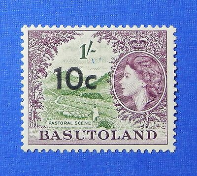1961 BASUTOLAND 10c SCOTT# 67 S.G.# 64 UNUSED NH                         CS20111