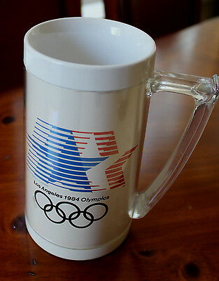 1984 LA Olympics Thermo Stein/Mug Stars in Motion