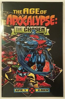 """The Age of Apocalypse: The Chosen #1 (1995) VF-VF/NM Churchill """"NEWSSTAND"""""""