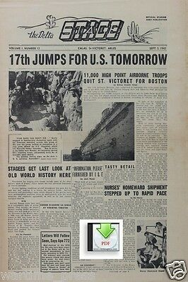CD File 4 issues The Delta Stage 1945 Calais St Victoret Arles 17th Airborne PDF