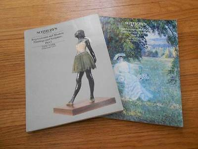 Sotheby's Catalogs. Impressionists & Modern Paintings and Sculpture Part I & I