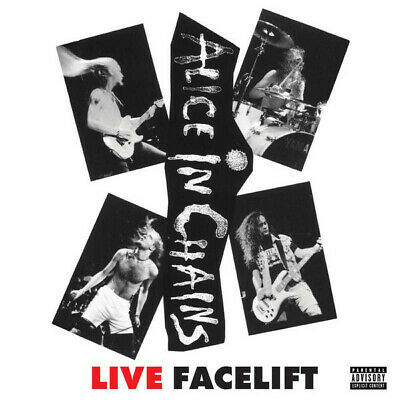 Alice In Chains Live Facelift RSD EU numbered vinyl LP NEW/SEALED