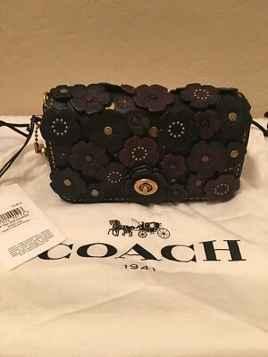 fa3a7e8b where to buy nwt coach 1941 saddle bag 23 glovetanned leather tea ...
