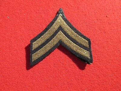 US Army Corporal rank insignia matched pair