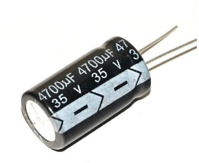 H● 20 Pcs Electrolytic Capacitors 4700uF 35V Radial 18*32MM