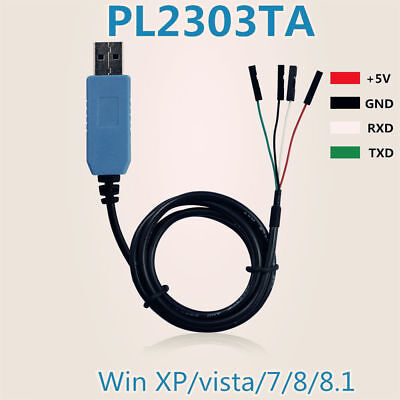 H● 10Pcs PL2303TA USB TTL to RS232 Converter Serial Cable module