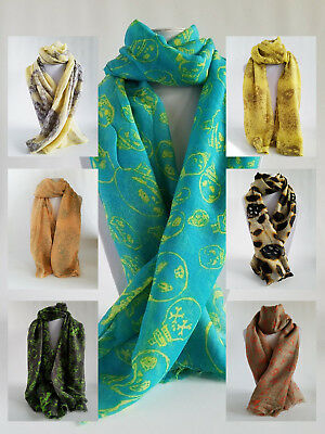 Ladies Fashion Skull Pattern Scarf - Free Shipping