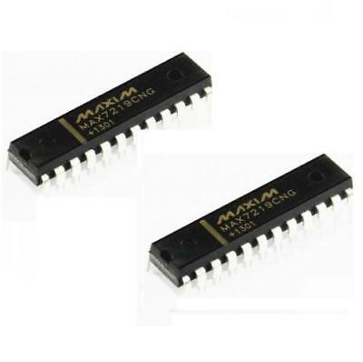 25 Pcs Maxim MAX7219CNG DIP-24 LED Display Driver IC