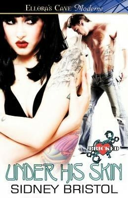 UNDER HIS SKIN (SO INKED 1) by Sidney Bristol EROTIC CONTEMPORARY ~ ELLORAS CAVE