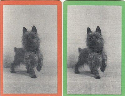 Genuine Swap / Playing Cards - 2 SINGLE - TERRIER DOG