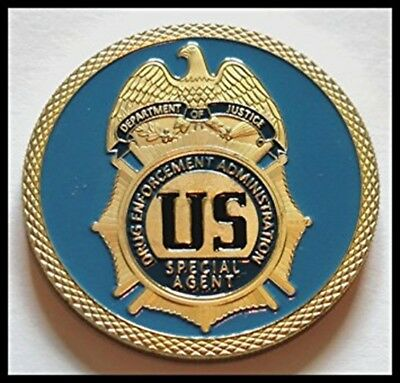 U.S. Drug Enforcement Agency Challenge Coin