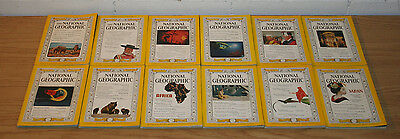 1960 Complete Year of National Geographic Magazine, January-December, Set of 12