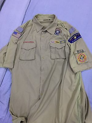 BSA Comissioner Uniform with Award & Other Patches