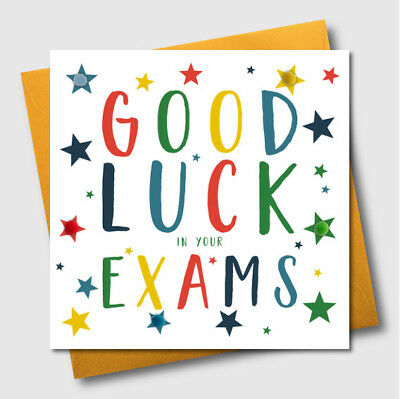 Greetings cards good luck in exams embellished pompom exam greetings cards good luck in exams embellished pompom exam greeting card m4hsunfo