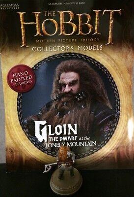 Eaglemoss * Der Zwerge von Thorin Gloin * figur & magazine hobbit lord of the ri