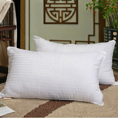Twin Pack Australian Made Pillow With Cotton Casing+2 Extra Cotton pillowcases