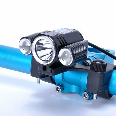 Bicycle Front Light Cycling Headlight Torch Ultra Bright CREE T6 LED Bike Lamp