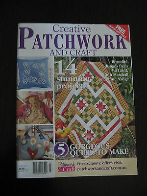 CREATIVE PATCHWORK AND CRAFT VOLUME 2 No 3 AS NEW MAGAZINE