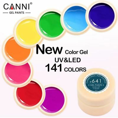Gel Lacquer 5ml 141 Pure Colors UV Gel Manicure DIY French Nail Art Tips Gel Pol