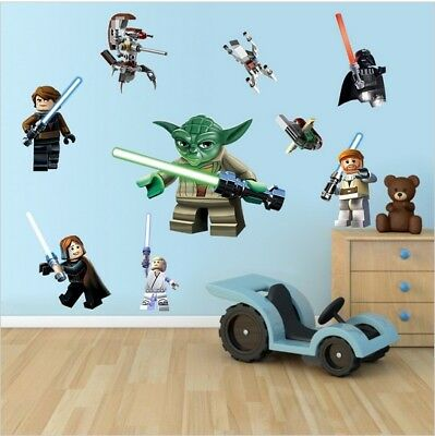 Lego Star Wars Lovely Wall Sticker Decal Boy S Room Nursery Art Mural