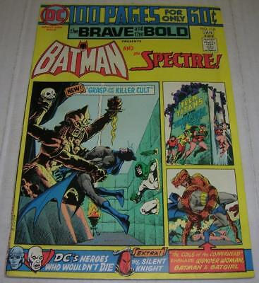 BRAVE AND THE BOLD #116 (DC Comics 1974) BATMAN & THE SPECTRE (FN/VF) 100 PAGES