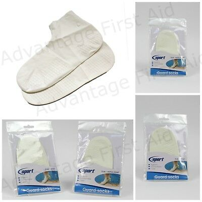 Pair Swimming Pool / Water Guard Socks. Wart, Verruca Hygiene. Child Size 9- 2.5