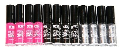 12 x NYC ShowTime Nail Art Creation Colour | Assorted Colours | Wholesale |