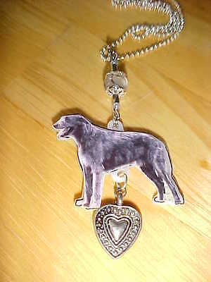 IRISH WOLFHOUND Necklace & Pendant - Dog Jewelry