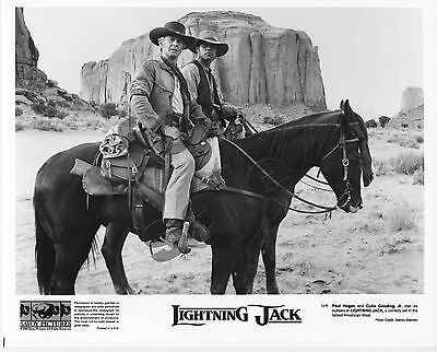 Lightning Jack Movie Still 4 B&W Publicity Photos Cuba Gooding Jr Paul Hogan