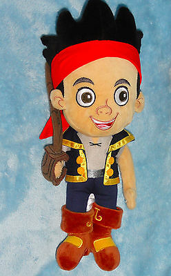 Disney Store Plush Jake Doll From The Never Land Pirates Neverland Stuffed Toy