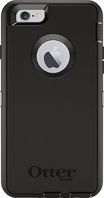 """New OtterBox Defender Apple iPhone 6/6S 4.7"""" Case Black 77-50389 (No Holster)"""