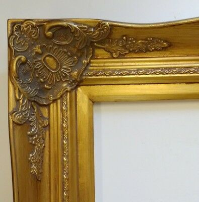 PICTURE FRAME- 24X36 Vintage Antique Style Baroque Classic Gold ...