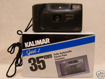 35MM Camera FULLY AUTOMATIC  FOCUS FREE Kalimar Spirit 2 NEW!!