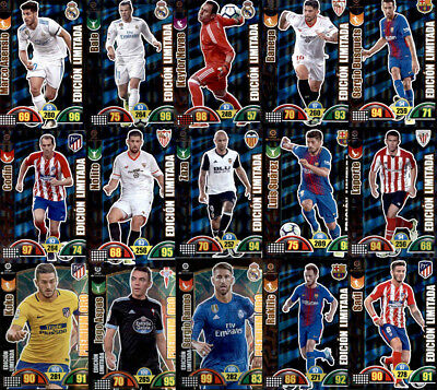 Edición Limitada - Adrenalyn Xl - La Liga 2017-18