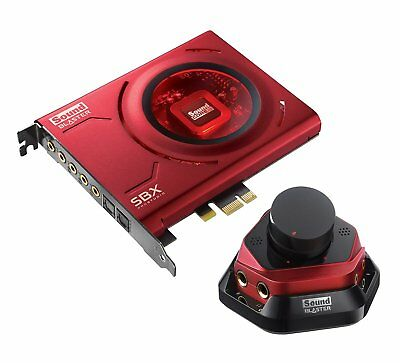Creative Sound Blaster Zx PCIe Gaming Sound Card with High Performance Headphone