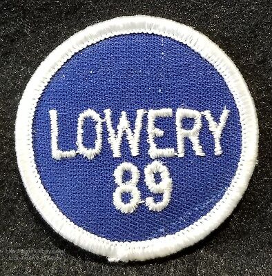 LMH Patch Badge 1989 LAKE LOWERY Party  RV VAN Get Together Campvention Rally 2""