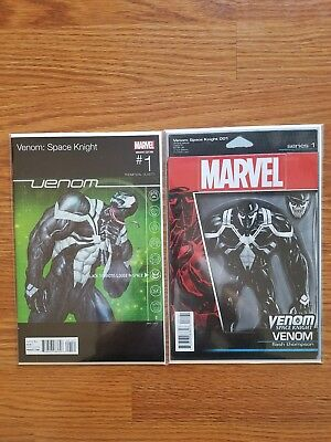 Venom Space Knight #1 **lot Of 2**nm Or Better**variant Covers**sharp Set