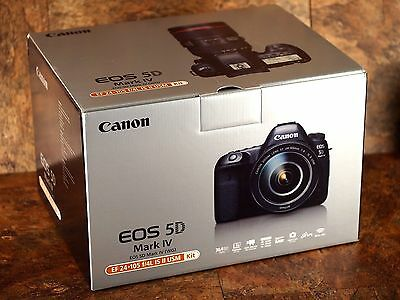 Canon EOS 5D Mark IV Digital SLR Camera Body Only - US - NEW