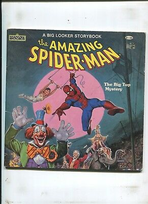 """Amazing Spider-Man Big Looker's Storybook - """"big Top Mystery!"""" - (6.0) 1984"""