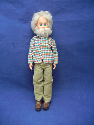 "Vintage 1973 Mattel Sunshine Family Doll ""grandpa"""