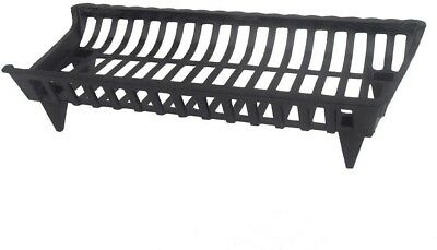 30 In. Cast Iron Grate Coated High Temperature Paint Design Keeps Together New
