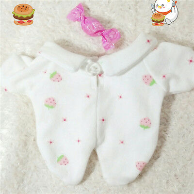 Kpop EXO XOXO Pajamas Sleepwear Clothes Plush Clothing Fit for 20cm Doll