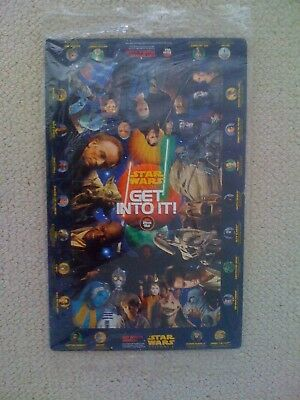 STAR WARS - Episode I & III Promotional Items (Puzzle, Pin Set, Spoon Saber etc)