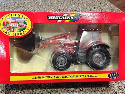 Britains  Same Rubin 150 Tractor with Loader  1/32 scale