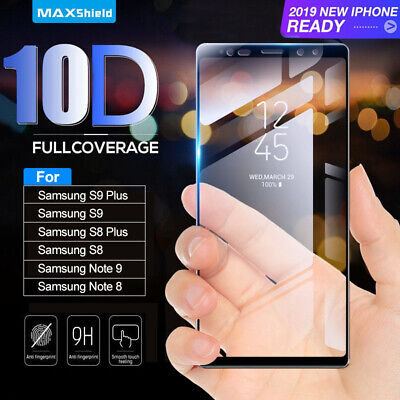 Real Tempered Glass Screen Protector Guard For Samsung Galaxy S9/S8/S10 Plus S10