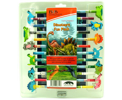 Garry Fleming Set of 12 Pencils - Dinosaurs