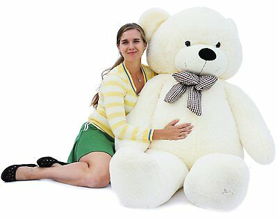 Joyfay Giant Teddy Bear 100/120/160/180/200/230 cm Plush Toy Valentines Gift
